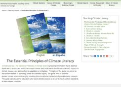 book-Essential Principles of Climate Literacy