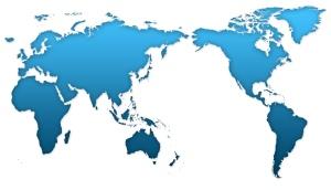 world-blue-map